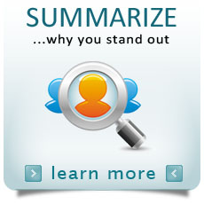 Summarize Why You Stand Out Brand Visibility