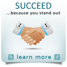Succeed Because You Stand Out